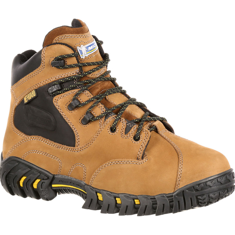 68f6b024b7e Quad City Safety Boots XPX763 Men s PilotExalto Metatarsal Steel Toe Boots