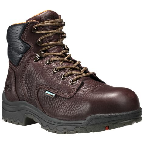 "Timberland 53359 TiTAN® Women's 6"" Waterproof Safety Toe Boots"