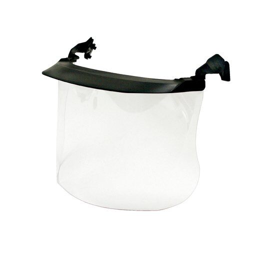 3M™ Clear Polycarbonate MultiVisor™ Cap Mounted Face Shield System