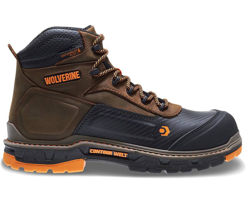 Wolverine 10717 Overpass CarbonMAX™ Safety Toe Work Boots