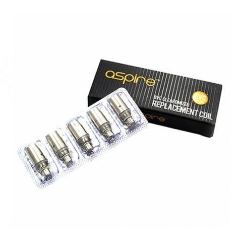 Aspire BVC Replacement Coils (Pack of 5) - Vapour Generation