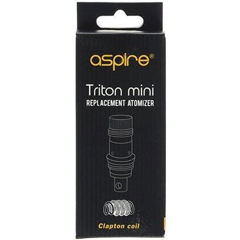 Aspire Triton Mini Replacement Coils (Pack of 5) Coils by Aspire - Vapour Generation | Electronic Cigarette & E-liquid Specialist | Kingswood & Keynsham, Bristol