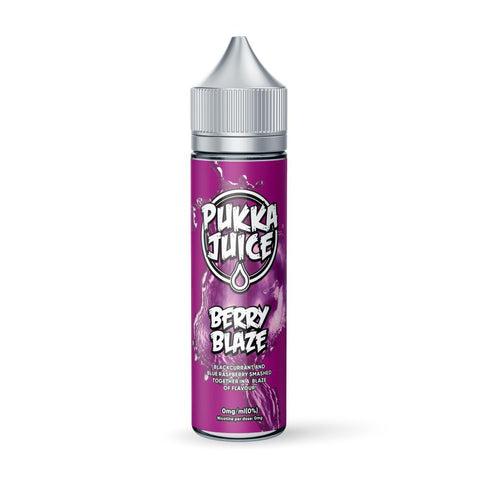Berry Blaze 50ml Shortfill by Pukka Juice E-liquid by Pukka Juice - Vapour Generation | Electronic Cigarette & E-liquid Specialist | Kingswood & Keynsham, Bristol