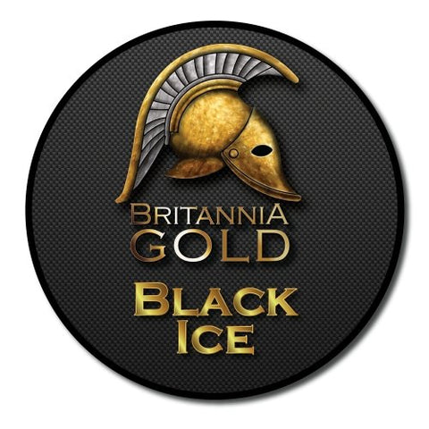Black Ice 10ml by Britannia Gold - Vapour Generation (1965867827242)
