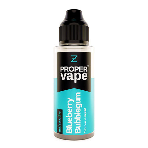 Blueberry Bubblegum 100ml Shortfill by Proper Vape E-liquid by Proper Vape - Vapour Generation | Electronic Cigarette & E-liquid Specialist | Kingswood & Keynsham, Bristol