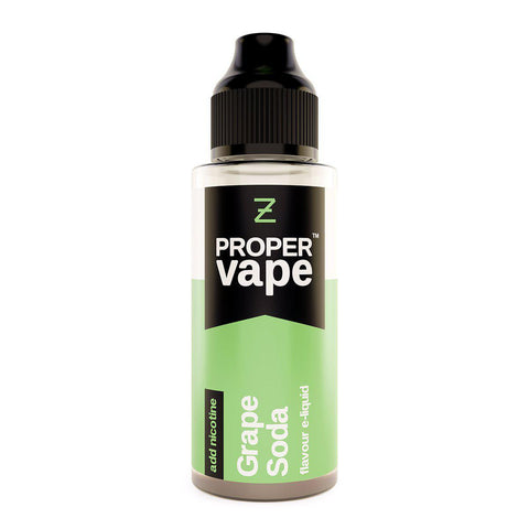 Grape Soda 100ml Shortfill by Proper Vape E-liquid by Proper Vape - Vapour Generation | Electronic Cigarette & E-liquid Specialist | Kingswood & Keynsham, Bristol