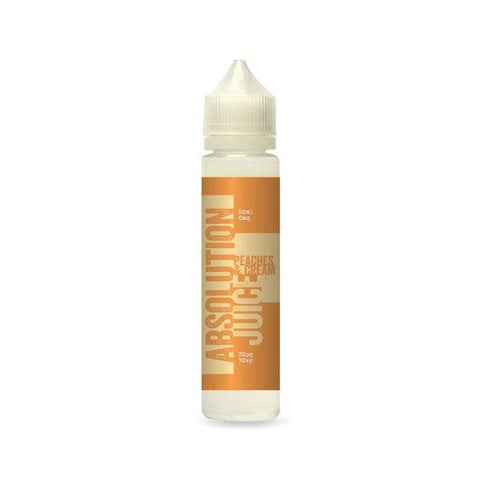 Peaches and Cream 50ml Shortfill by Absolution Juice E-liquid by Absolution Juice - Vapour Generation | Electronic Cigarette & E-liquid Specialist | Kingswood & Keynsham, Bristol