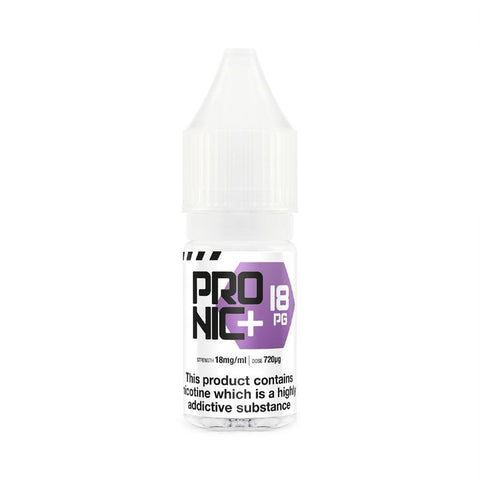 ProNic+ 18mg PG Nicotine Shot - Vapour Generation