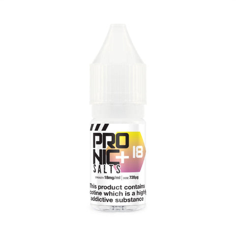 ProNic+ Salt 10ml Nicotine Shot - Vapour Generation