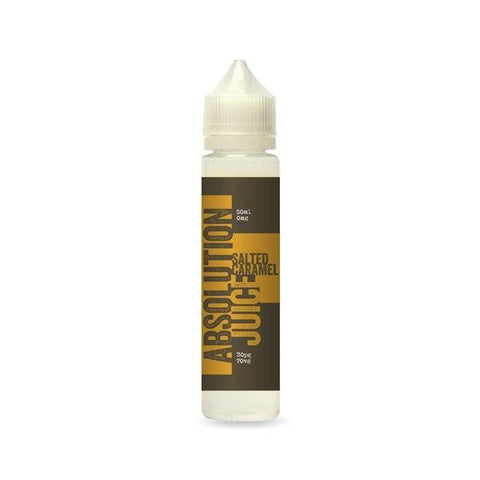 Salted Caramel 50ml Shortfill by Absolution Juice E-liquid by Absolution Juice - Vapour Generation | Electronic Cigarette & E-liquid Specialist | Kingswood & Keynsham, Bristol