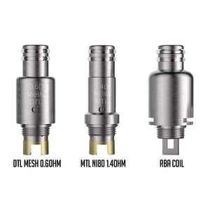 Smoant Pasito Replacement Coils (Pack of 3) / RBA Deck - Vapour Generation