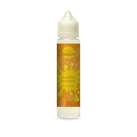 Vanilla Custard 50ml Shortfill by Ministry of Custard - Vapour Generation