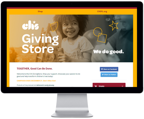 Give Back Nation GivingStore Example