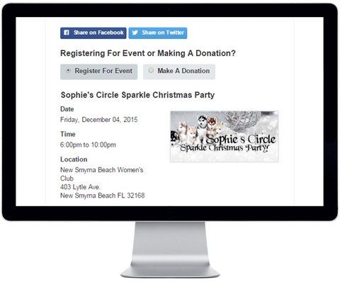 Give Back Nation GivingPortal Registration Tools