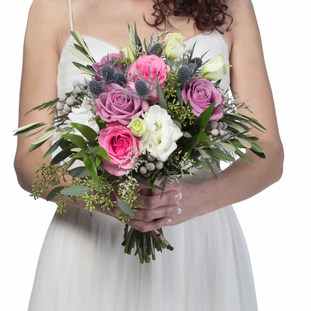 Tickled Pink Bridal Bouquet