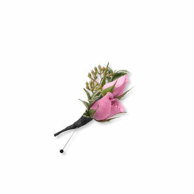 Tickled Pink Boutonniere