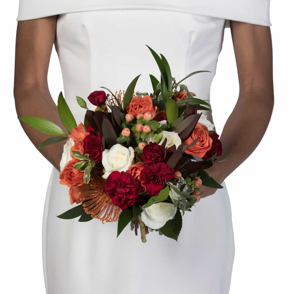 Autumn Sunset Bridal Bouquet