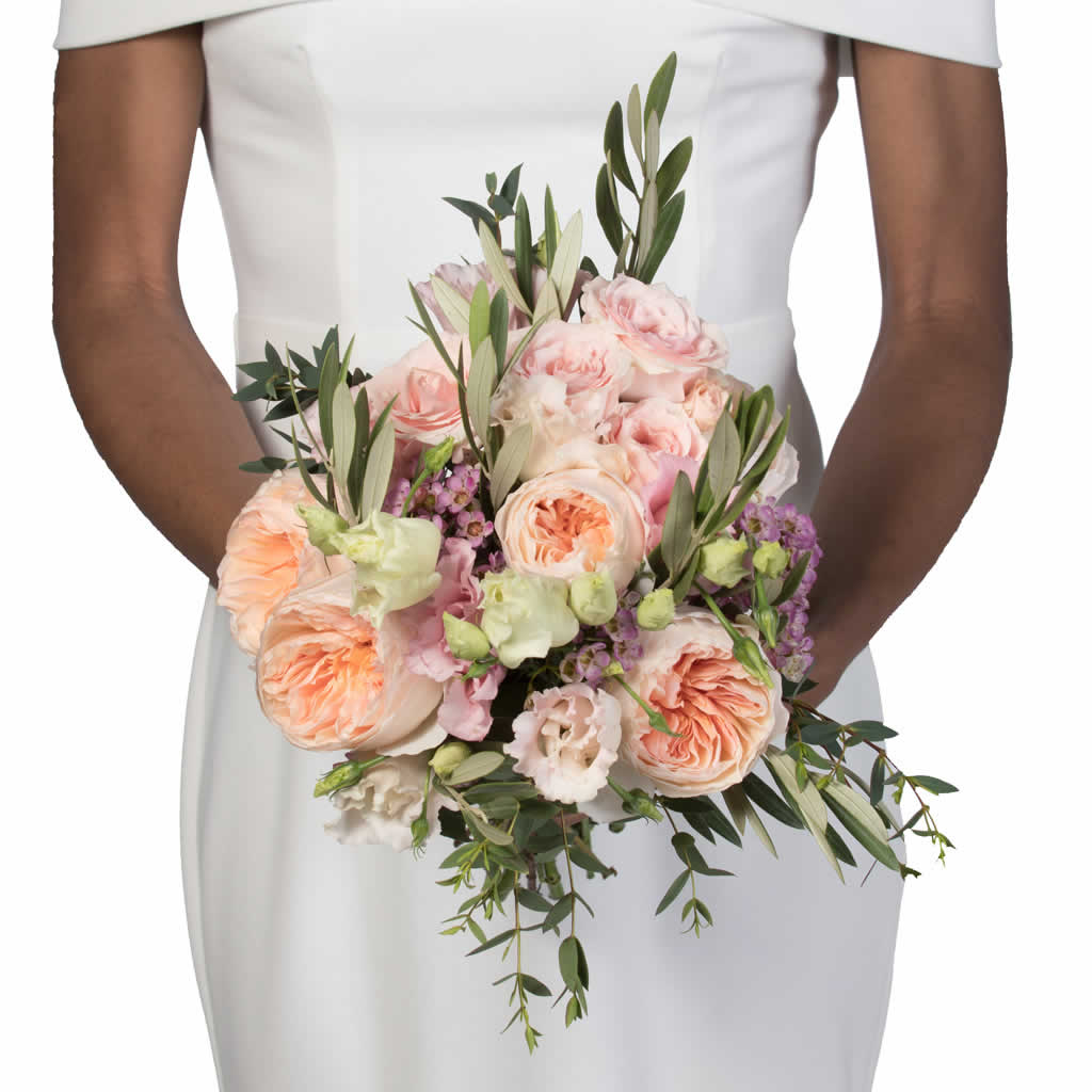 Monet's Garden Bridal Bouquet