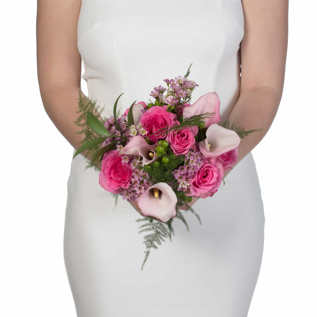 Minuet in Pink Bridal Bouquet