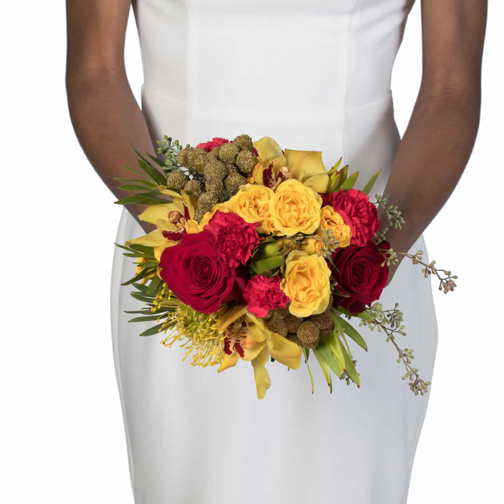 Island Harvest Bridal Bouquet