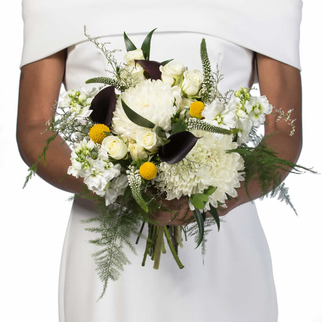 Formal Garden Bridal Bouquet