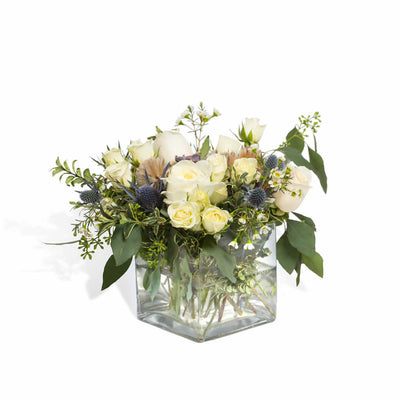 Misty Blue Centerpiece