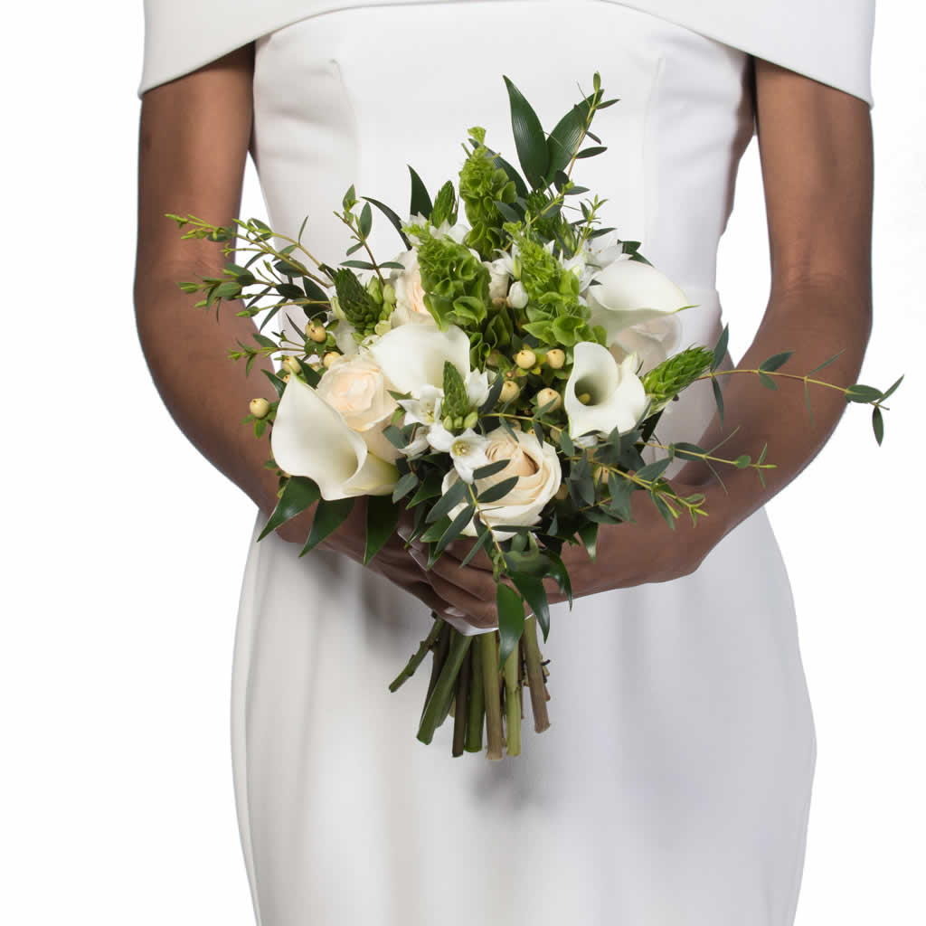 Irish Linen Bridal Bouquet