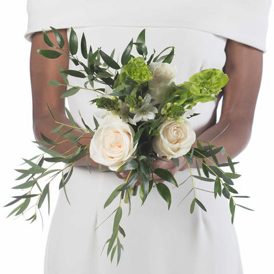 Irish Linen Bridesmaid Bouquet