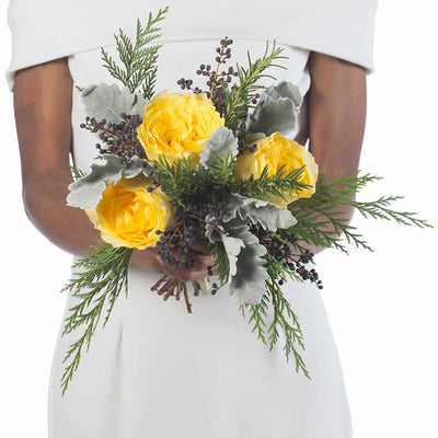 Sunburst Bridesmaid Bouquet