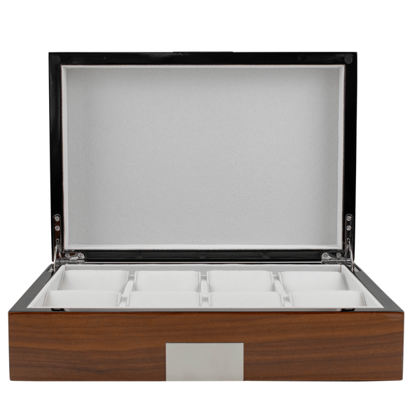 Kennett 8 piece Watch Collector's Box in rosewood