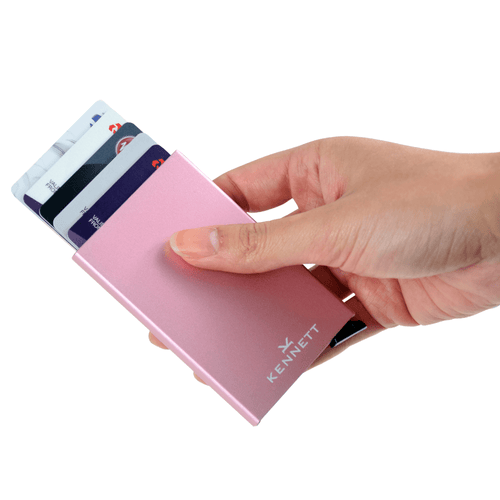 Kennett Smart Wallet Card Protector Pink