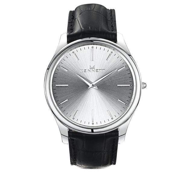 Silver Mens Kennett Watch from the Kensington collection