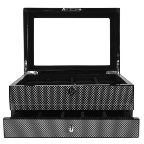 Kennett 8 piece carbon fibre watch box.