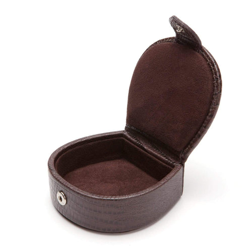 Wolf - Blake Collection - Cufflink/Stud Box Brown