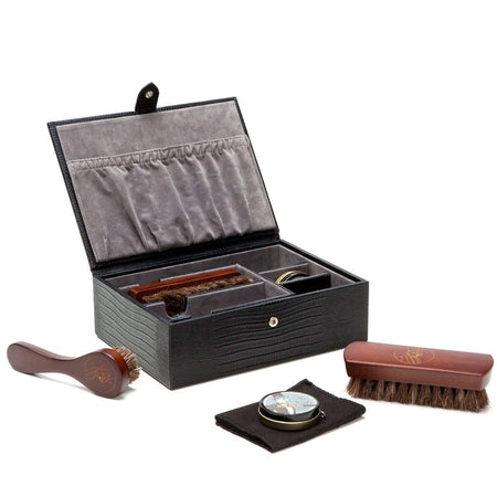8 Piece Wooden Watch Box - Rosewood Finish