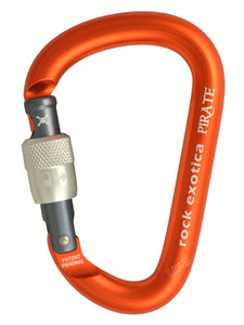 Pirate Screw-Lock Carabiner