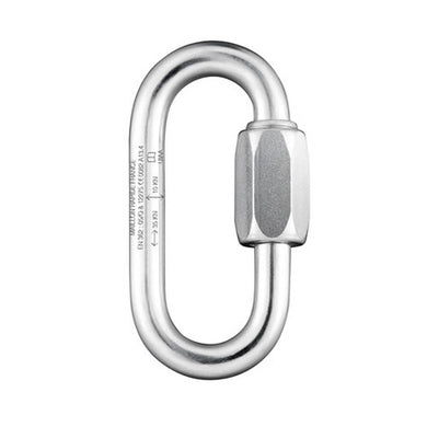 7mm Oval Quicklink - Steel