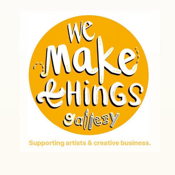 We Make Things Gallery Logo Yellow & White