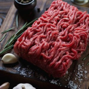 OSTRICH GROUND MEAT  (5LBS)