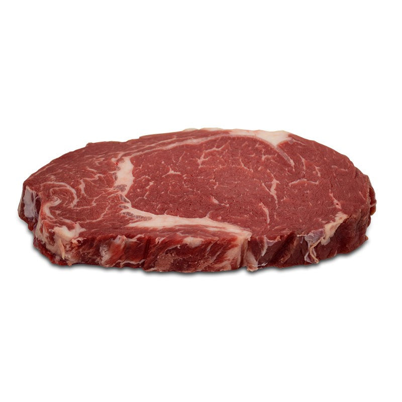 BISON 8OZ  BONELESS RIB EYE STEAK 1X 8OZ (1/2LBS)