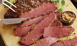 SLICED CORNED BISON 2 LBS