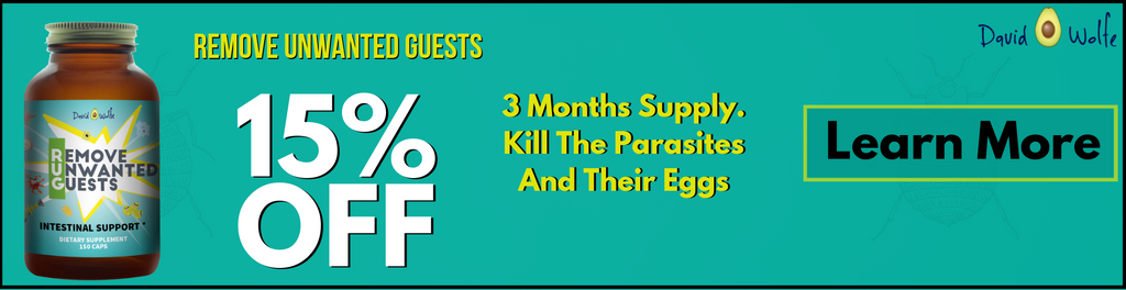 How To Get Rid Of Parasites Naturally – David Wolfe Shop