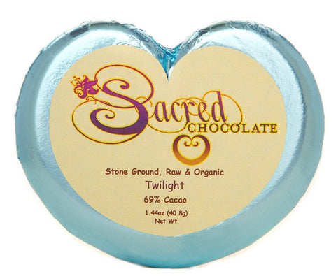 Image of 69% Twilight Sacred Chocolate Heart Bars (12 Pack)