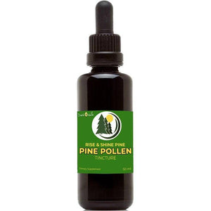 Rise & Shine Pine Pollen Tincture (50mL) – Male Enhancement