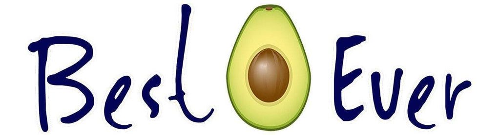 Best Ever Avocado Bumper Sticker