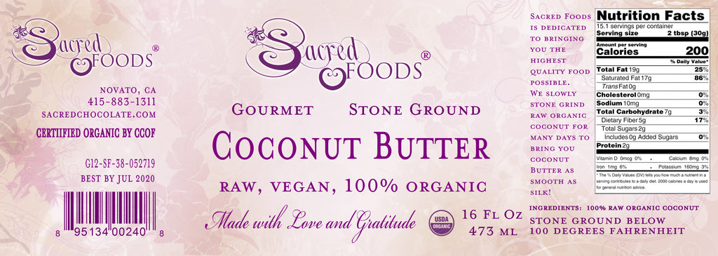 Raw Organic Stone Ground Nut Butter Pack (3 Flavors) - Sacred Foods