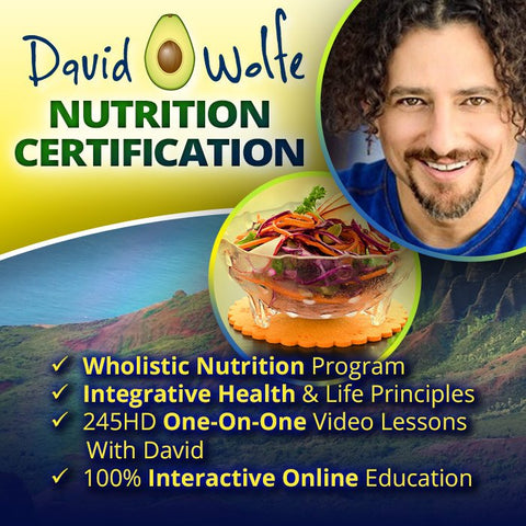 David Wolfe Nutrition Certification