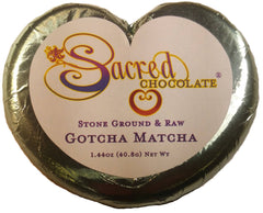 Gotcha Matcha Heart Chocolate Bars (12 Pack) - (Shipping Included USA)