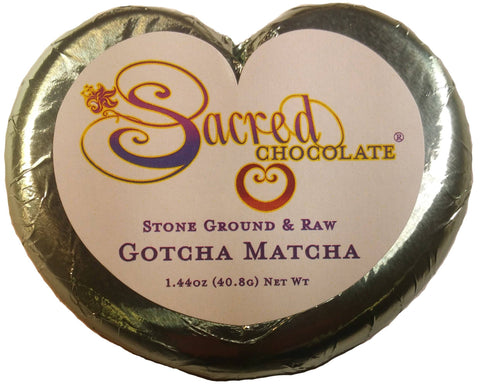 Image of Gotcha Matcha Heart Chocolate Bars (12 Pack) - (Shipping Included USA With Coupon BESTSAVINGS)