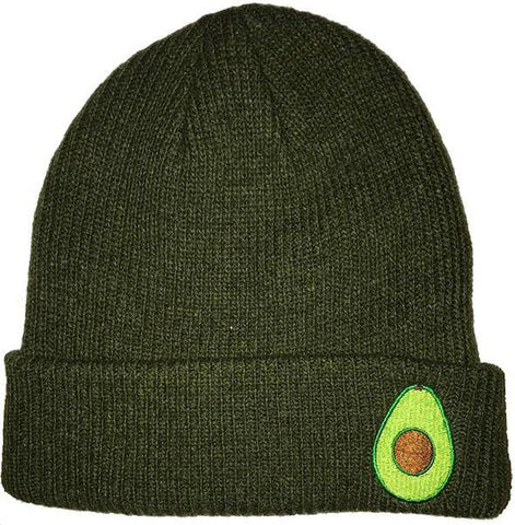 Image of Avocado Beanie Hat (Organic)